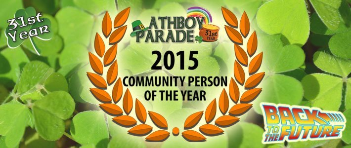 Athboy Parade - Community Person of the Year 2015